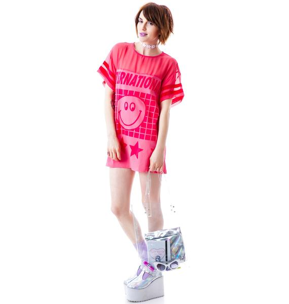 Lazy Oaf Internationale Slob T-Shirt