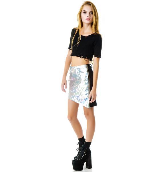 UNIF Holo Skirt