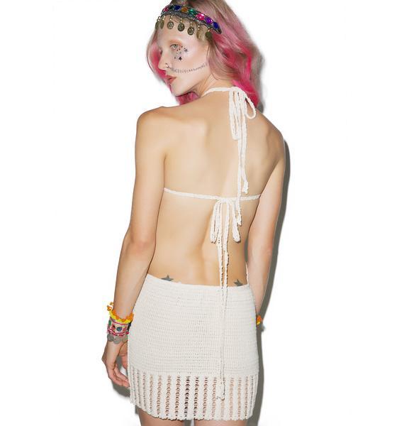 Beach Side Crochet Dress