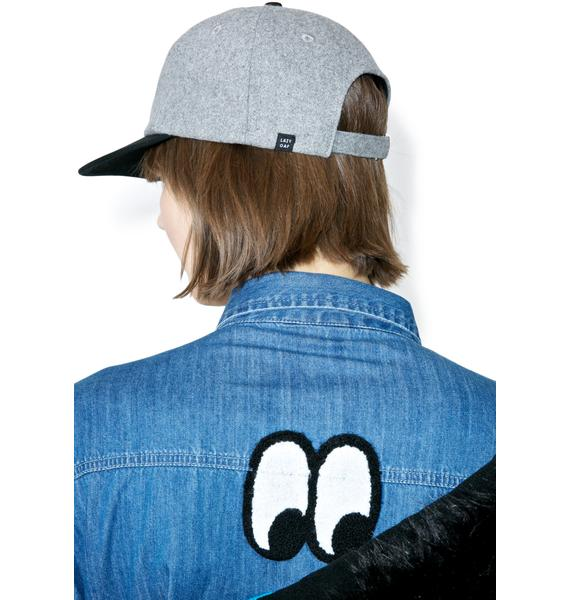 Lazy Oaf Brushed Eyeball Cap