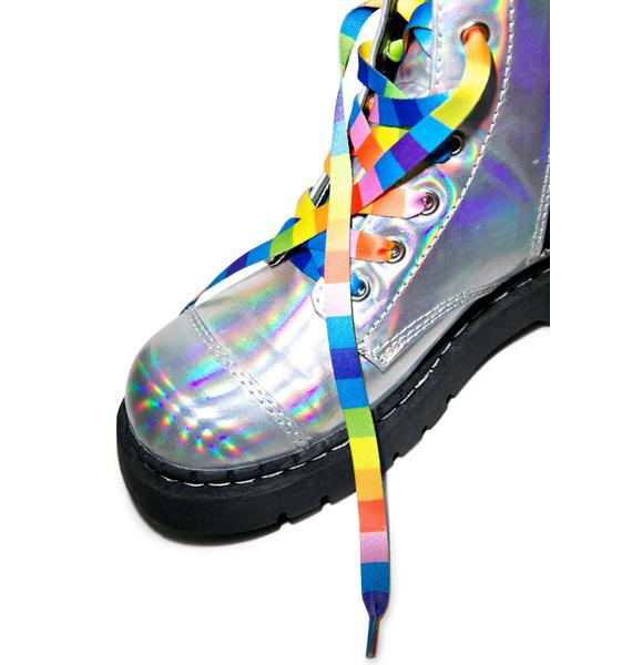 Taste The Rainbow Shoelaces