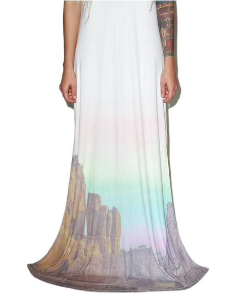 Canyon Sunset Journey Dress