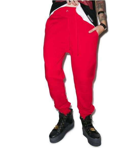 Drop Crotch Biker Pant