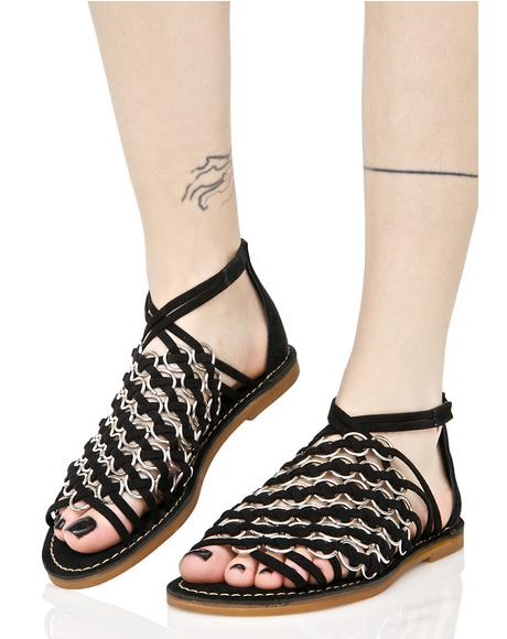 Stroll On O-Ring Sandals