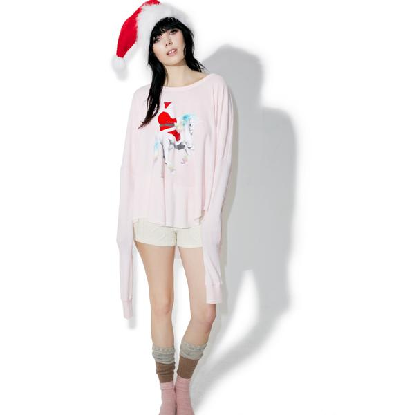Wildfox Couture Unicorn Sleigh Perry Thermal