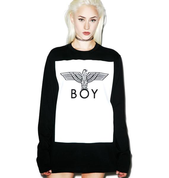 BOY London Boy Eagle Sweater Tee