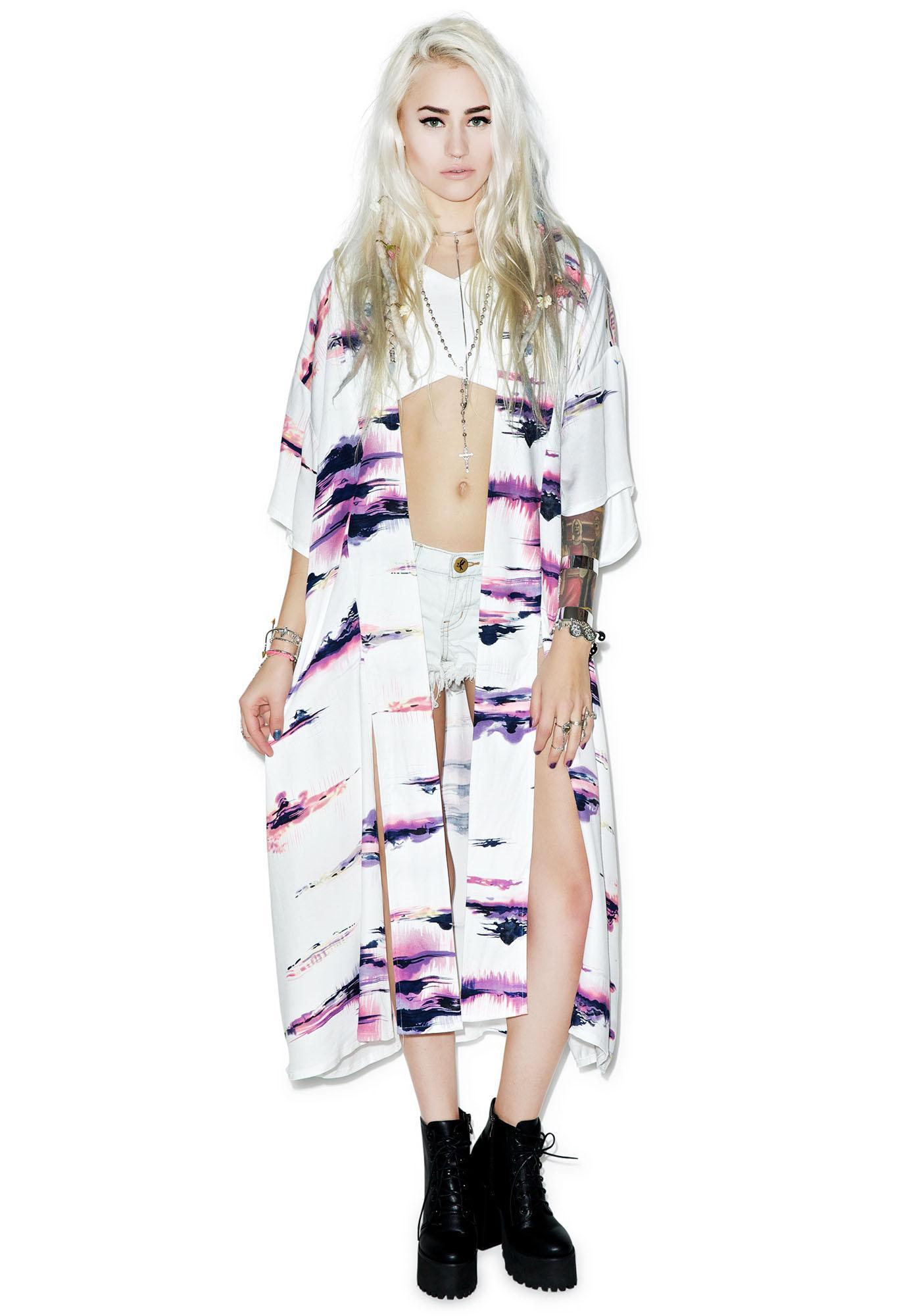Somedays Lovin The Sun Sets Kimono