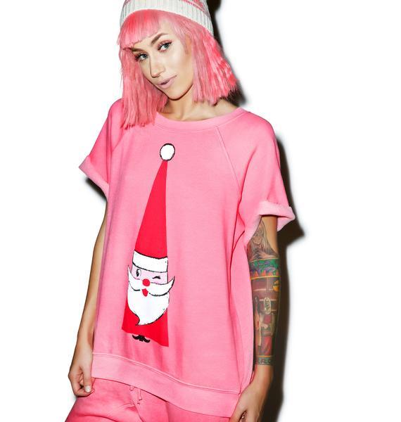 Wildfox Couture Jingle Brit Pullover