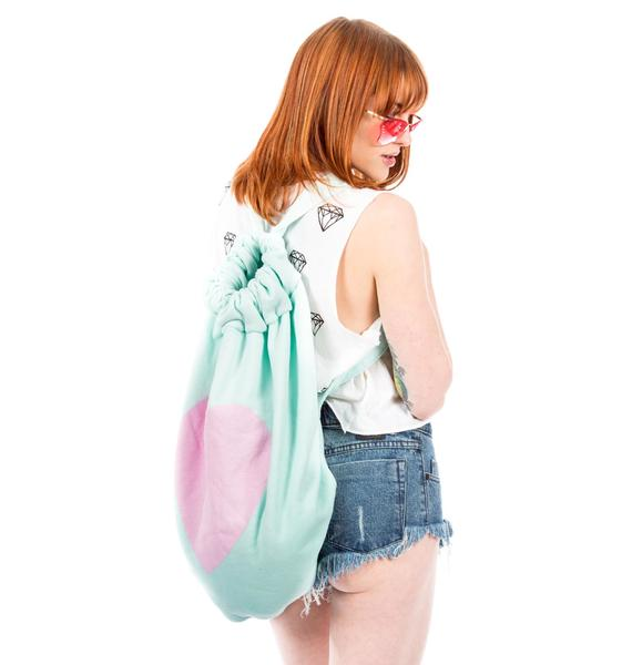 Wildfox Couture Roadtrip Big Heart Bag