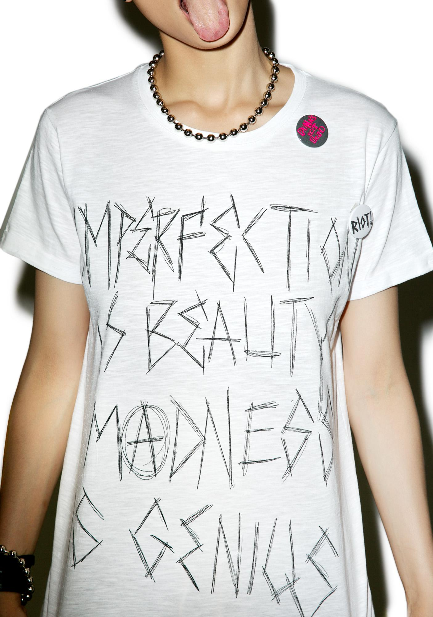Happiness x Hanna Beth Imperfection Tee
