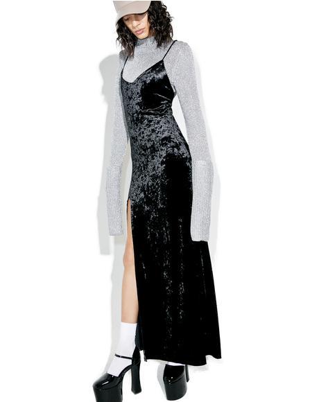 Crushed Desires Maxi Dress