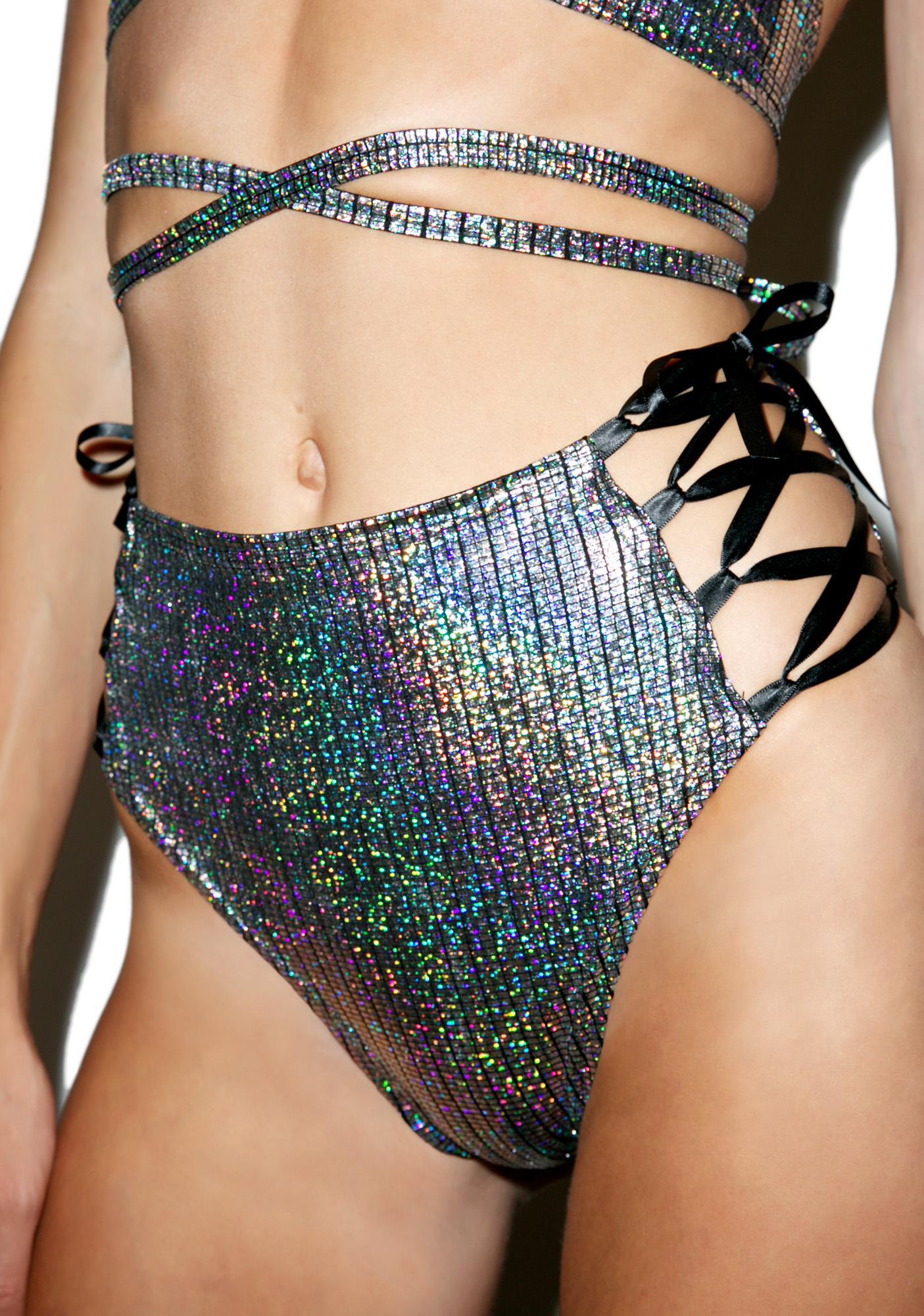 Chromatic Lace-Up Shorts