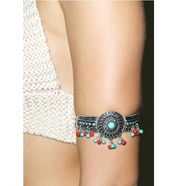 Sun Worshiper Beaded Bracelet