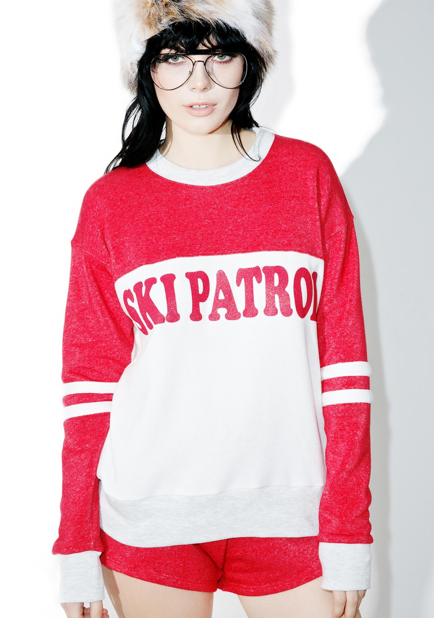 Camp Collection X Dolls Kill Ski Patrol Cooper Sweatshirt