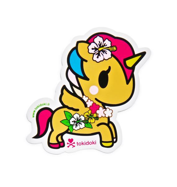 Tokidoki Unicorno Kaili Sticker
