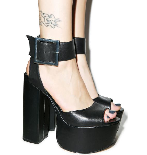Windsor Smith Tuckie Leather Platform