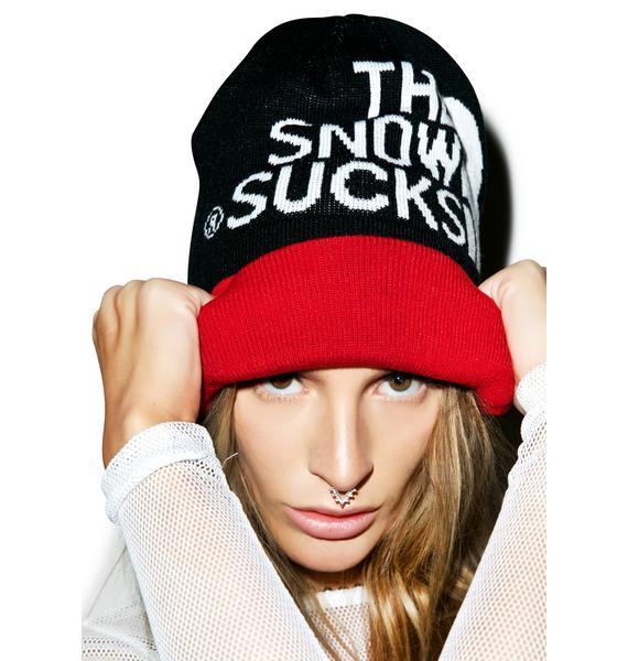 Reason Snow Sucks Beanie