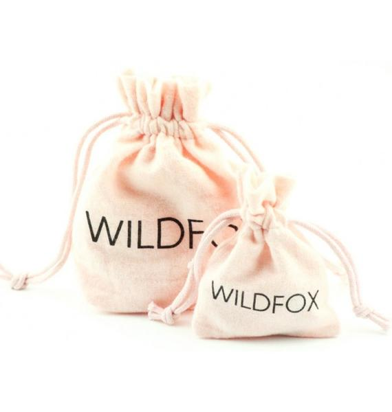 Wildfox Couture Black Hematite Bone Ring Set