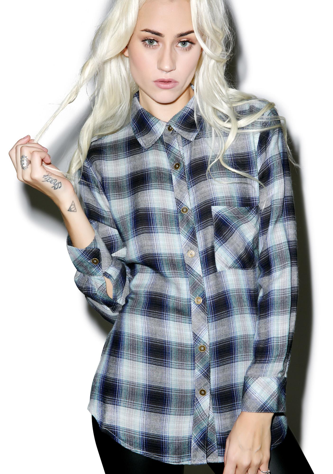 Tacoma Huckleberry Flannel Shirt