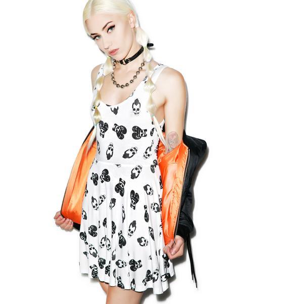 Iron Fist Skull A Billy Skater Dress