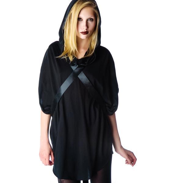Widow Shadow Hooded Tunic