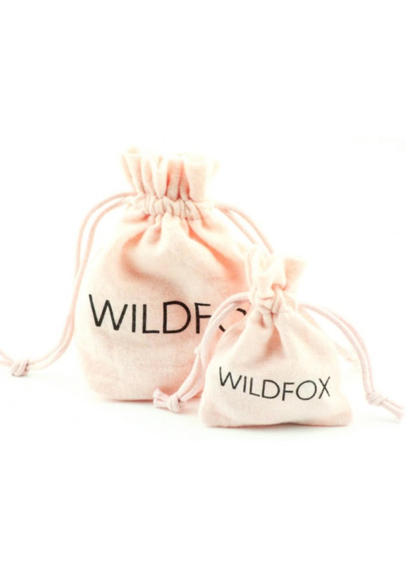 Wildfox Couture Black Hematite Skull Ring