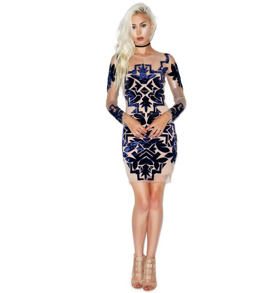 For Love & Lemons Vienna Mini Dress