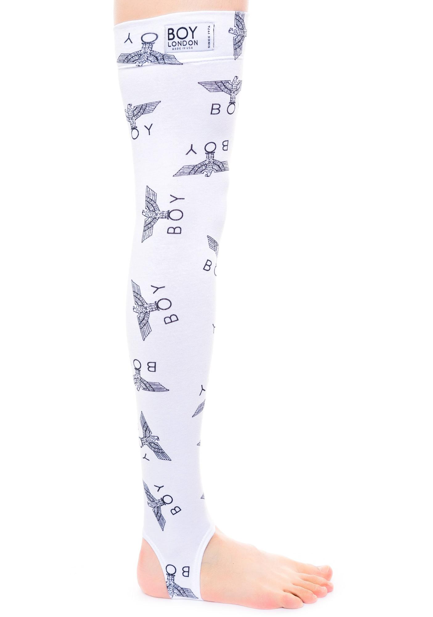 BOY London Allover Eagle BOY Stirrups