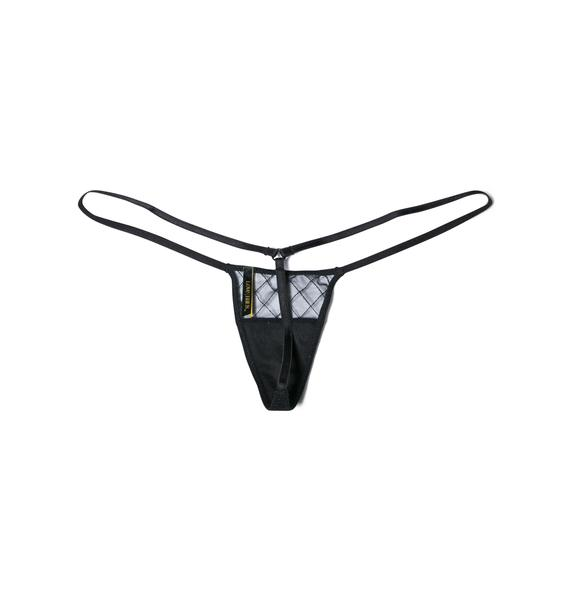Love Haus Sheer Sexy Micro Thong Panty