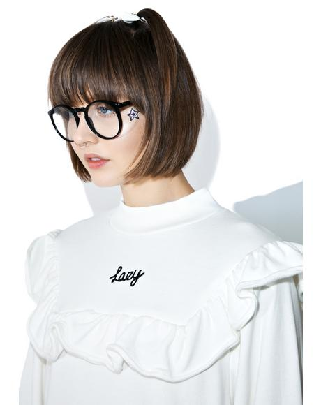 Lazy Frill Sweatshirt