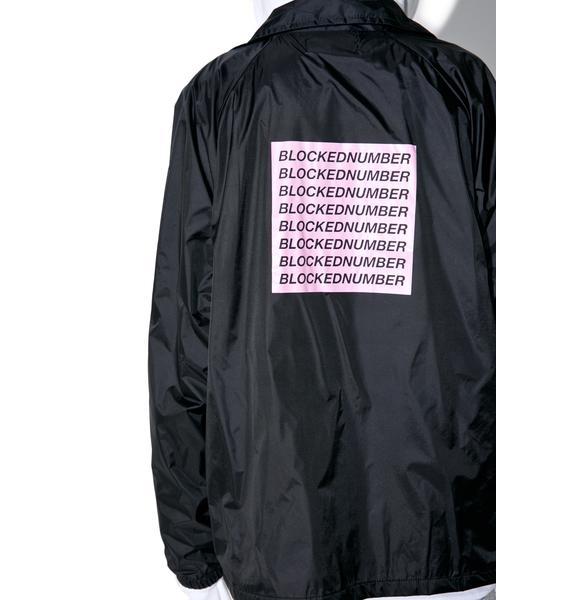 HLZBLZ Blocked Number Coaches Jacket
