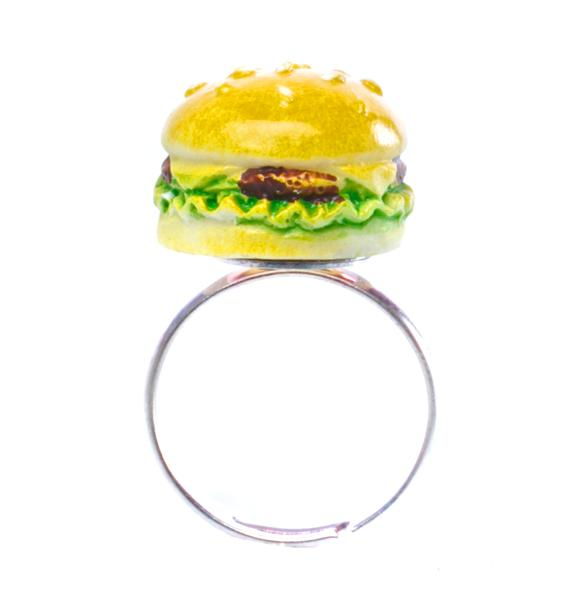 Rad and Refined Burger Ring