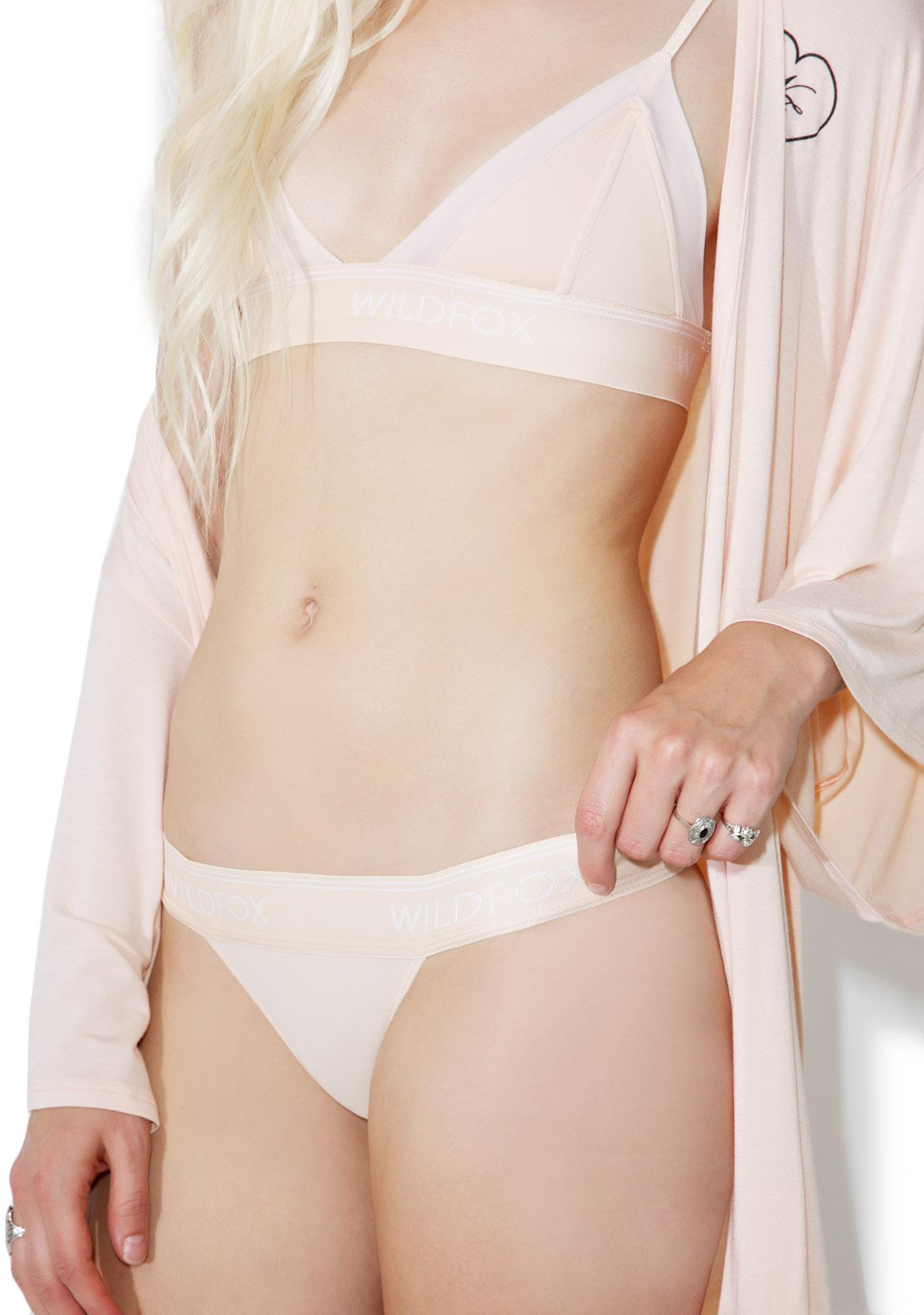 Wildfox Couture Peachy Bikini Brief