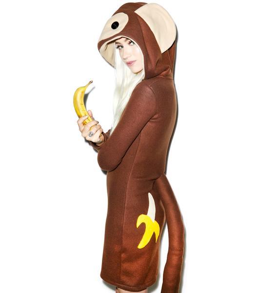 Monkeying Around Hoodie Costume