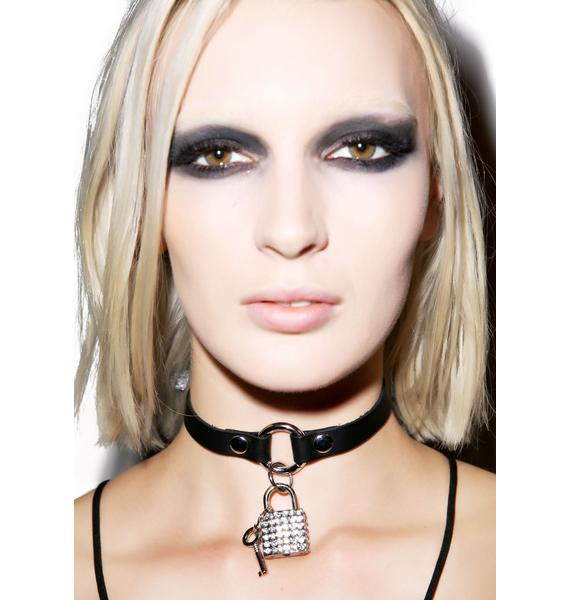 Club Exx Locking Out For Love Choker