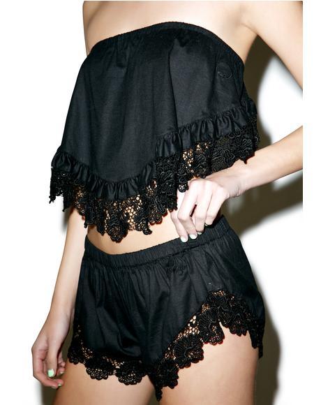 Noosa Lace Shorts