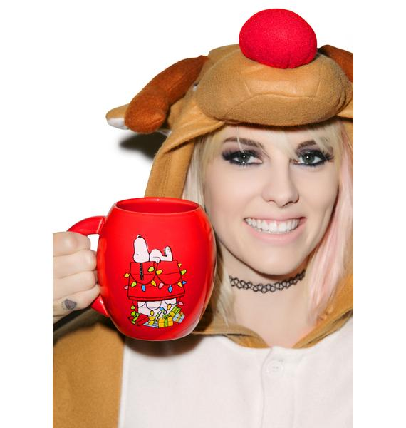 Peanuts Holiday Ceramic Mug