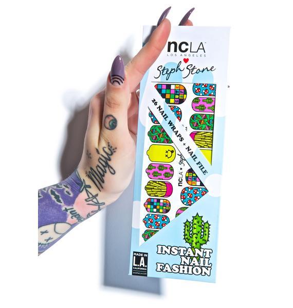 NCLA Cute AF Nail Wraps