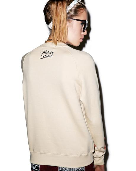 Rich Bitch Crew Pullover