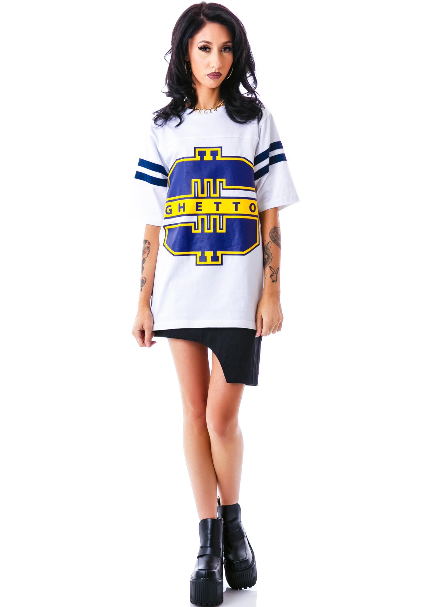 Joyrich Ghetto Logo Athletic Tee