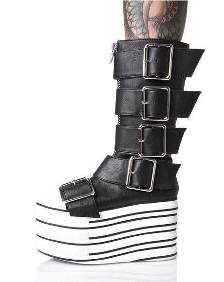 Blazed Platform Sneakers