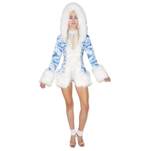 J Valentine Gettin' Cloudy Hooded Coat