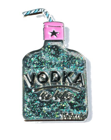Vodka Enamel Pin