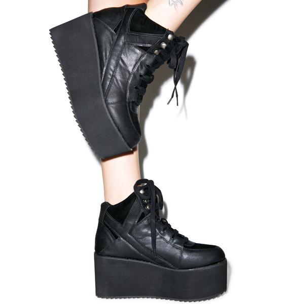 Y.R.U. Qozmo Lo Lo Platform Sneakers