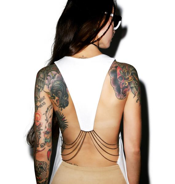 From The Back Muscle Tank