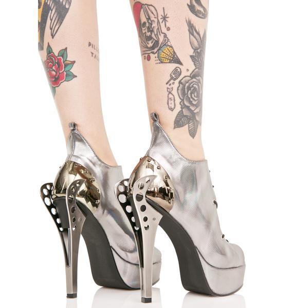 Hades Footwear Stellar Lace-Up Heels