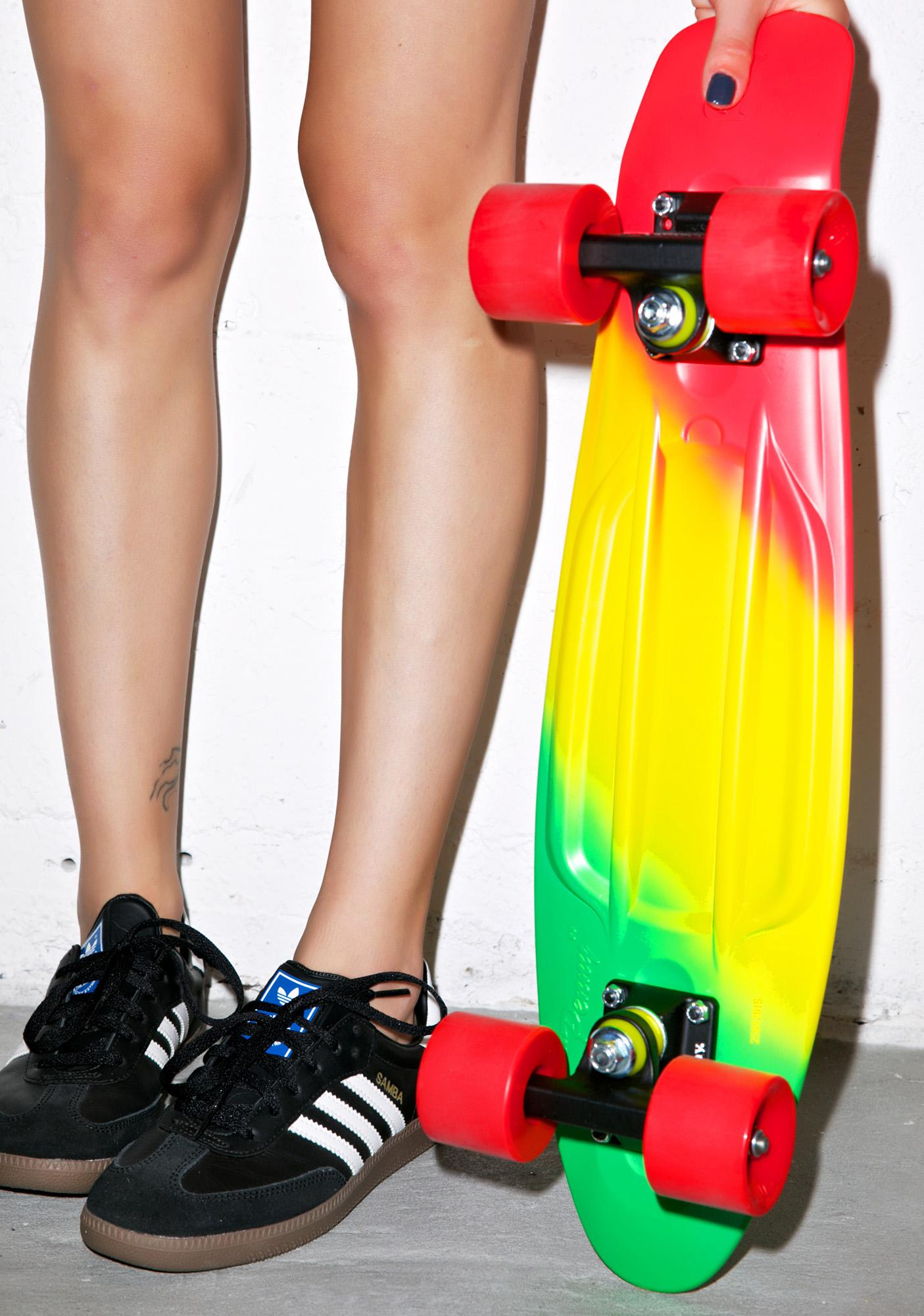 Penny Skateboards Jammin' Penny Painted Fade Skateboard