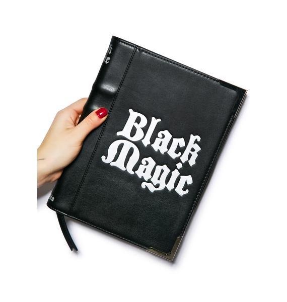 Disturbia Black Magic Clutch Bag