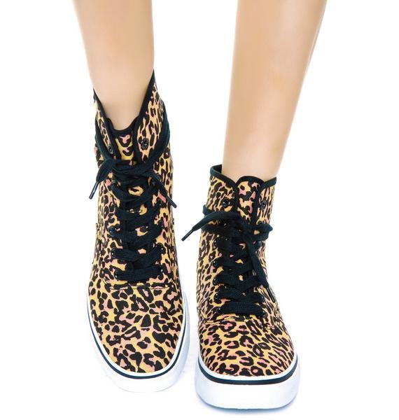 Natural Predator Hi Top Sneakers