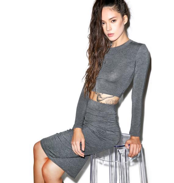 BLQ BASIQ Dat Pencil Skirt